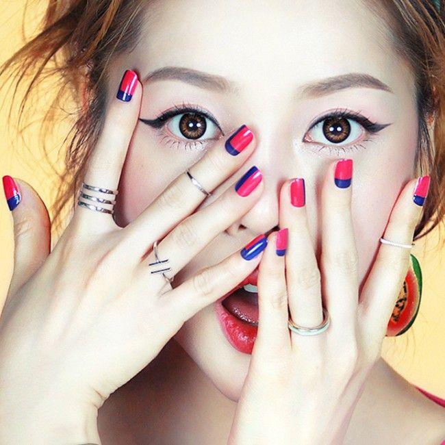 Best 25+ Korean nails ideas on Pinterest   Korean nail art ...