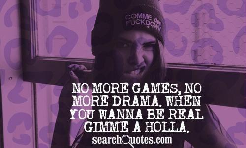 No Drama Quotes | drama quotes, drama quote, drama quotes and sayings, i hate drama ...