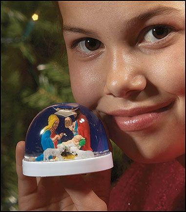 Nativity Snowball