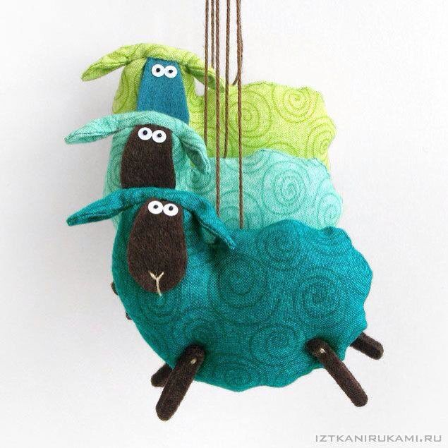 Handmade lambs