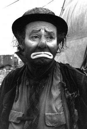 Emmett Kelly- lived in Houston,Missouri as a child. The town where I was born.