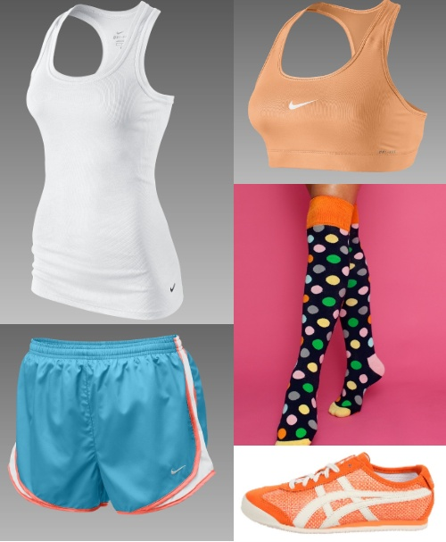 Crossfit Outfit-orange