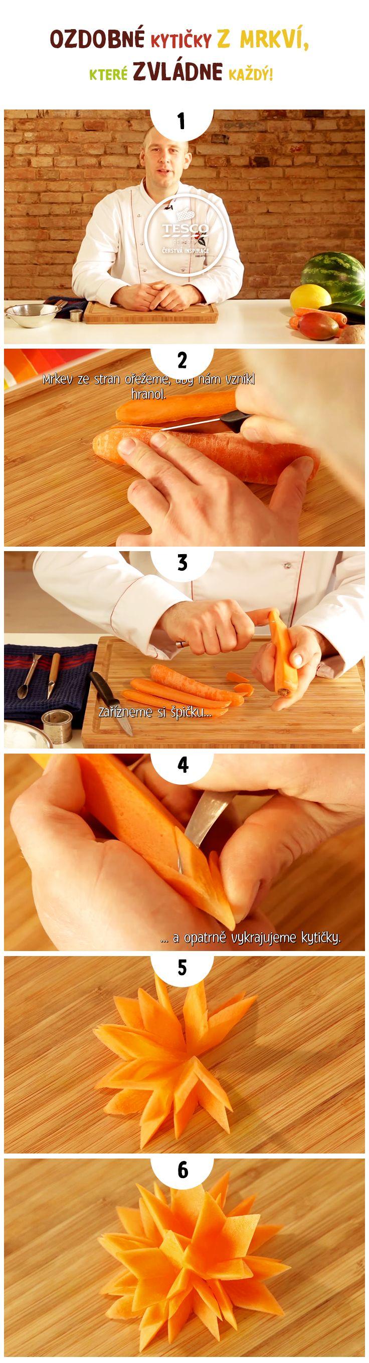 Vytvořte krásné mrkvové kytičky za pomoci našeho videa s Janem Hajným!