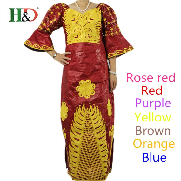 Free Shipping African Fashion Designs Bazin Riche Lady's traditional  Maxi Dress Fabric Dashiki Africa Dresses For Women S2311