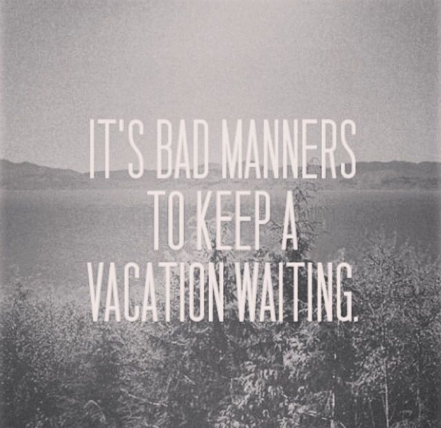 Don't have bad manners.