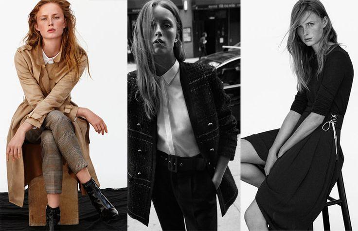 Zara Officewear AW17 Ft. Model Rianne Van Rompaey. New Editorial Lookbook for a Monday-to-Friday inspiration #zaraeditorial #zarawoman http://bit.ly/2itJPxF