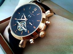 Vacheron Constantin chronograph Tourbillon watch.