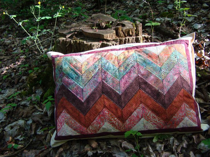 polštář z Bali batik