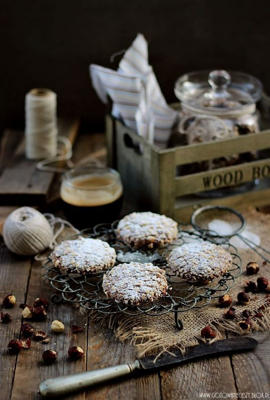 Hazelnut & Nutella Cookies | Gotuję, bo lubię