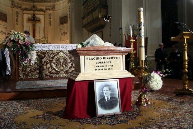 I funerali di Rizzotto a Corleone