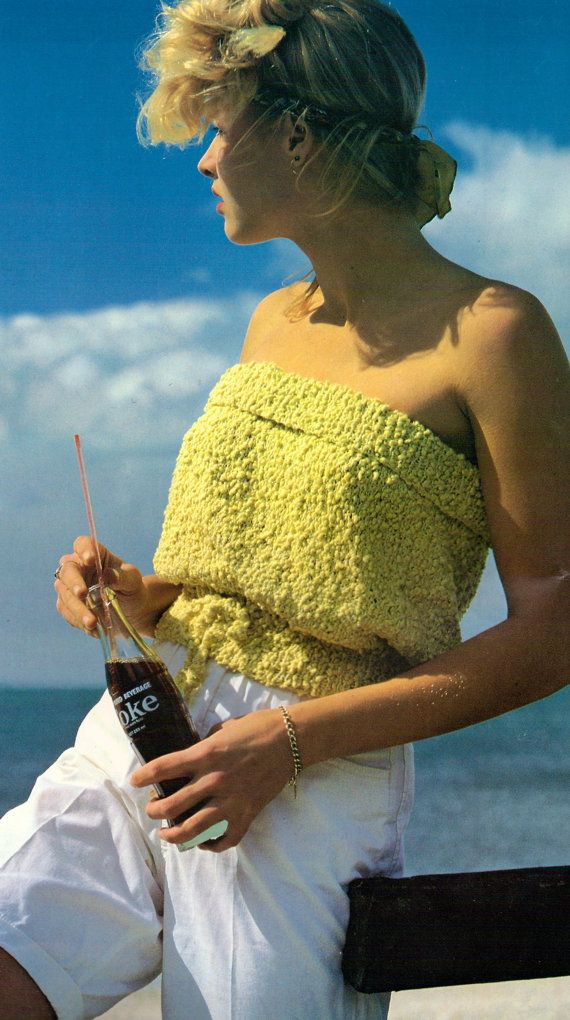 Hey, I found this really awesome Etsy listing at https://www.etsy.com/listing/170261134/tube-top-vintage-knitting-pattern