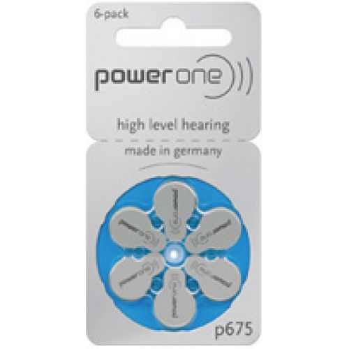 Power one zinc air p675 (60 pack). 40% off.Only €10.80
