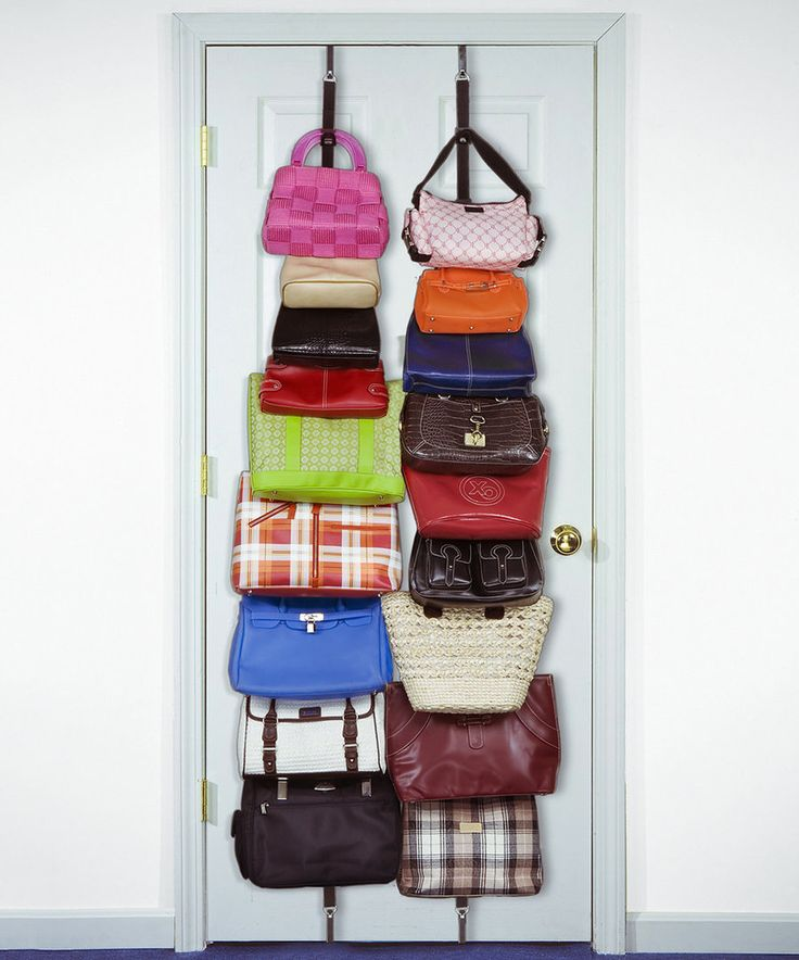 Look at this Hanging Bag & Purse Rack on #zulily today!