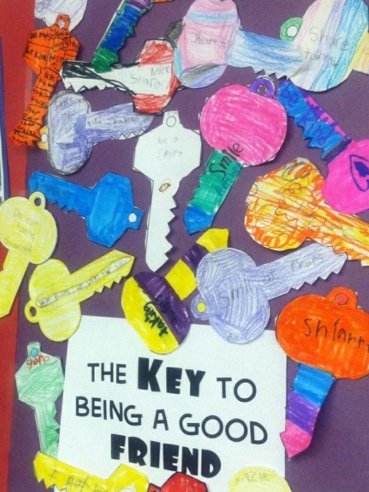 Describing key ways to be a good friend!