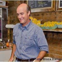 Jeff McMahon of Longspell Point Farm, Kingsport, Nova Scotia