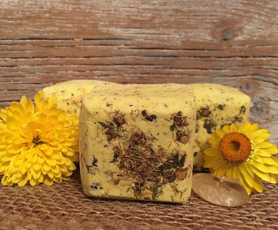 These sunray Bath Bombs are SOO citrusy. Need I say more?
