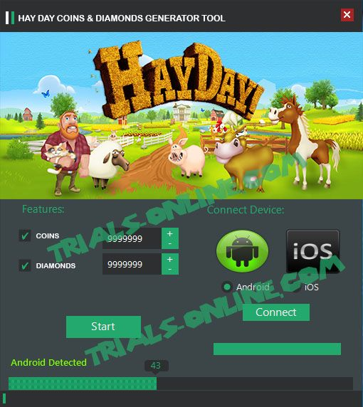 Hay Day cheat hack apk tool Android iOS