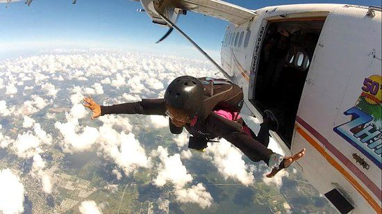 Image result for solo skydiving parachute