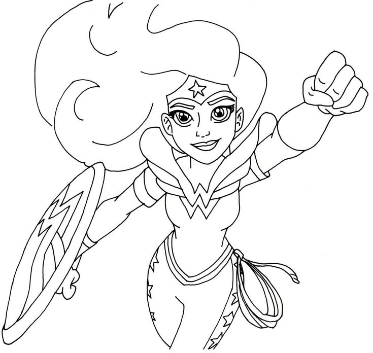 30 best Colouring pages images on Pinterest Coloring pages, Print - new free coloring pages wonder woman