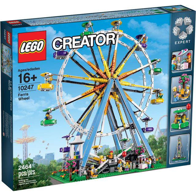 Đồ chơi LEGO 10247 Ferris Wheel – Bánh xe đu quay khổng lồ