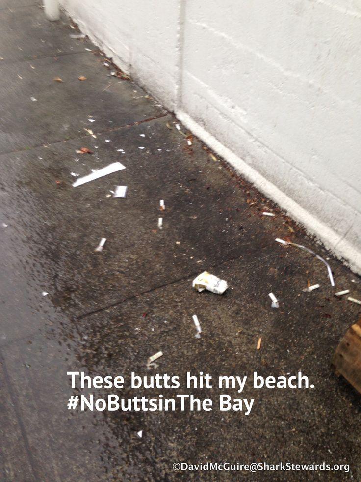 Staff cigarette butt break: Kinkos on Fillmore and Moulton