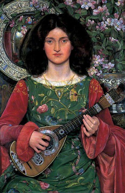 Kate Elizabeth Bunce, Μελωδία. 1895-97. Μουσεία και Πινακοθήκη Τέχνης του Μπίρμινγχαμ. Άννα Αγγελοπούλου