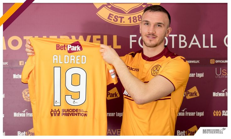 Signing number three of the January transfer window is here.  Welcome to Motherwell FC, Tom Aldred.