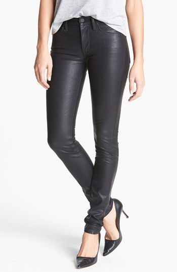 MOTHER 'The Muse' Faux Leather Pants | Nordstrom