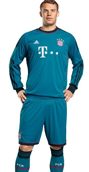FC Bayern Goalkeeper Shirt 2013-14 Adidas
