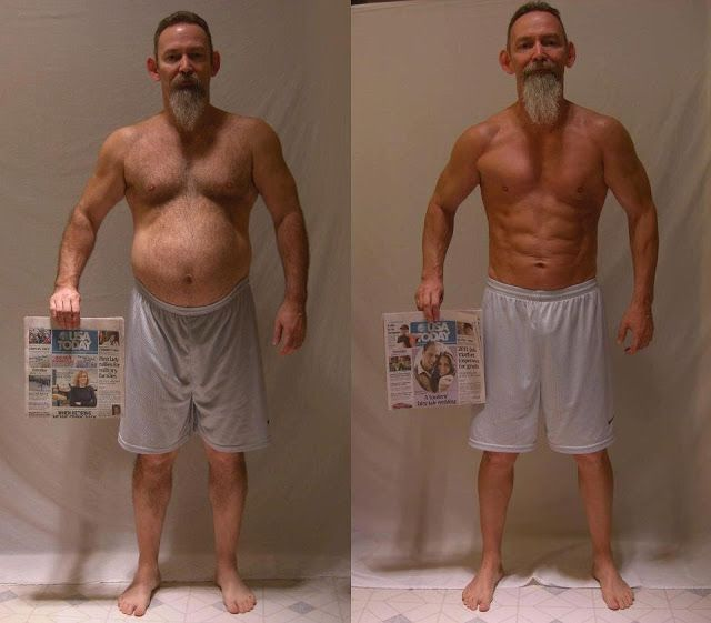 Before And After Never Too OldRead More At Thehealthyboy Gymspiration
