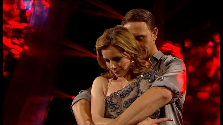 Darcy Bussell and Ian Waite - 2012. I love Ian Waite. I could watch him dance all day.