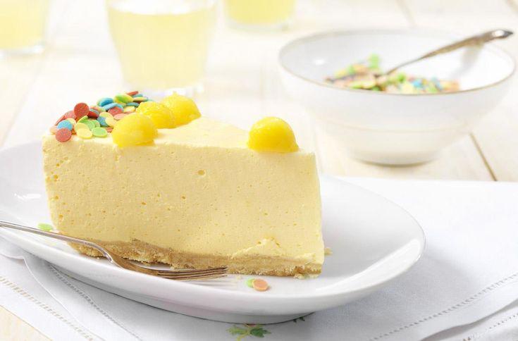 Romige Mango-Mascarpone taart Recept: Gemakkelijk om te maken deze romige Mascarponetaart met een frisse mangosmaak. - Een van de 500 lekkere Dr. Oetker recepten!