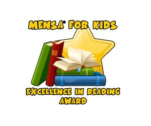 Kids can read books to earn certificates and T-shirts from Mensa for Kids
