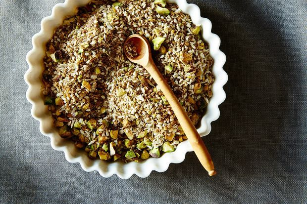 Dukkah, the condiment you'll be sprinkling on your food for all of eternity.