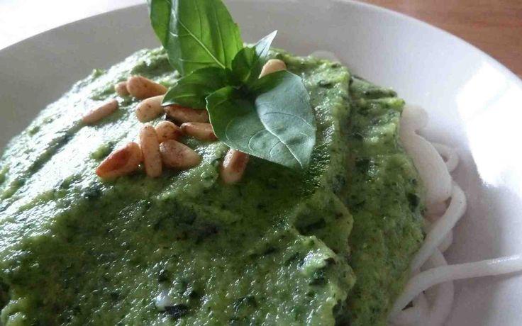 Pesto Crémeux à la Courgette