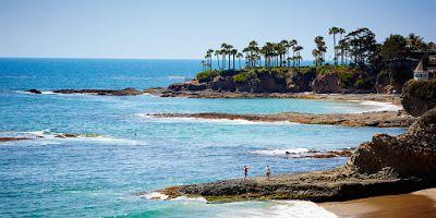 Laguna Beach: sole, mare,colore Gli abitanti di Laguna Beach, la pittoresca cittadina sulll'oceano, vanno orgogliosi del loro stile di vita rilassato e del loro senso dell'arte. Le isolate insenature che si annidano lungo la costa, #viaggi #relax #estate