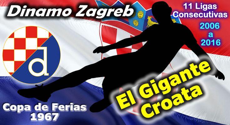 El Dinamo Zagreb es el club más laureado de Croacia. Hasta 2017 han logrado 18 Ligas de la Prva NHL y 14 Copas Croatas, de ellas 11 Ligas de forma consecutiva. En la antigua Yugoslavia conquisto 4 Ligas y 7 Copas. Su mayor exito fue ser Campeón de la Copa de Ferias (después llego a ser la Copa UEFA) en 1967. #DinamoZagreb #Zagreb #Croatia #Hrvatska #Croacia #Futbol #Fussball #Football #Soccer #ClubesDelMundo