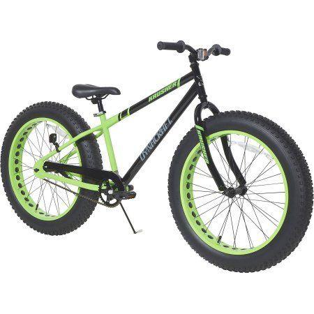 24 inch Dynacraft Fat Tire Krusher Boys' Bike, Black