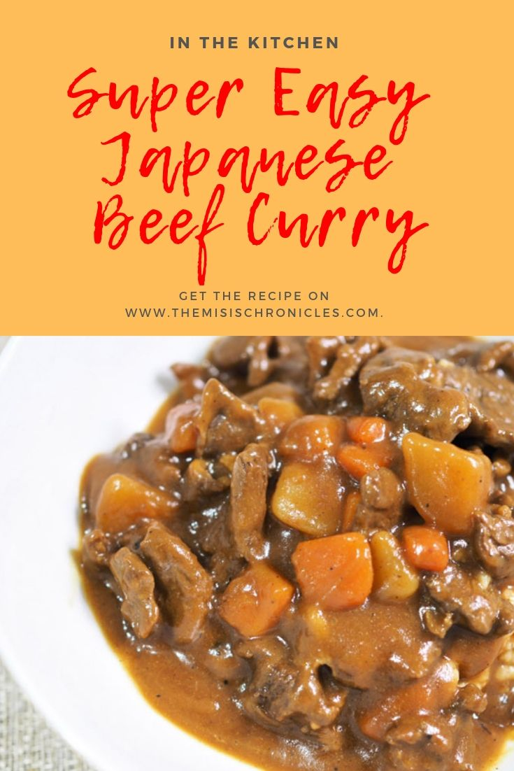 Super Easy Japanese Beef Curry Recipe Even Newbies In The Kitchen Can Cook This Beef Curry Recipe Curry Recipes Easy Japanese Recipes