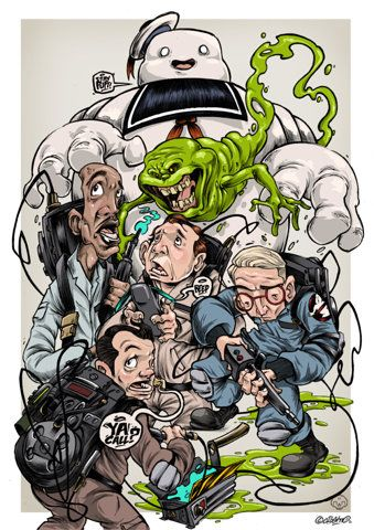 CLOGTWO!: THE GHOSTBUSTERS PRINTS