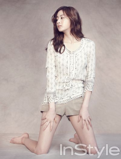 Kang So-ra // InStyle Korea // July 2013
