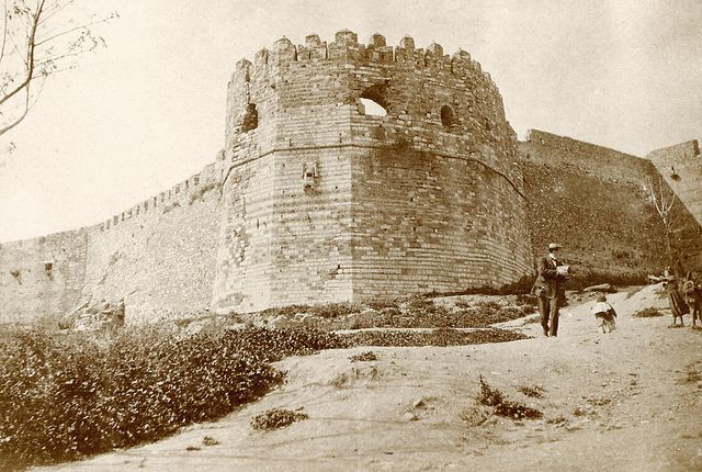 Fortress in Patras, Greece