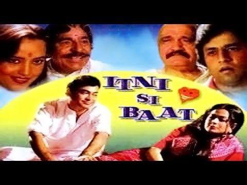 Free Itni Si Baat 1981 | Full Movie | Sanjeev Kumar, Moushumi Chatterjee, Urmila Bhatt, Dinesh Hingoo Watch Online watch on  https://free123movies.net/free-itni-si-baat-1981-full-movie-sanjeev-kumar-moushumi-chatterjee-urmila-bhatt-dinesh-hingoo-watch-online/