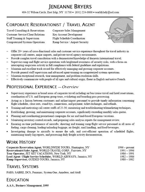 19 best My Resume\/Portfolio images on Pinterest North america - call center representative resume