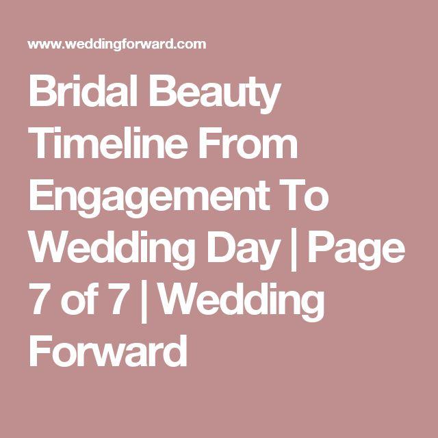 Wedding Day Makeup Timeline : 1000+ ideas about Engagement Timeline on Pinterest ...