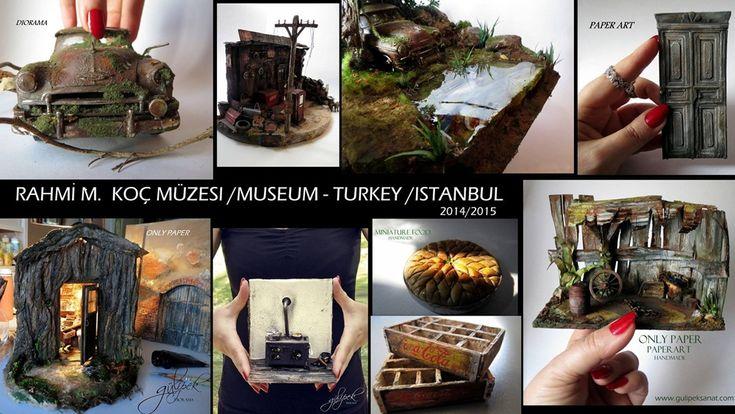 2014 /2015    #diorama #museum #sergi #rahmi_m_koc_muzesi #istanbul #hasdal #miniature #mini#minimal #miniaturefood #dollhasusefood #dollhause #otomocil #ford #auto #oldmobile #handmade #tamirhane #cargarage #garage #dioramagarage #autorepair #art #artist #turkey #painting #paperart #paper #kağıt #model #modelinclay #clayart #talents #doors #olddoors #kap