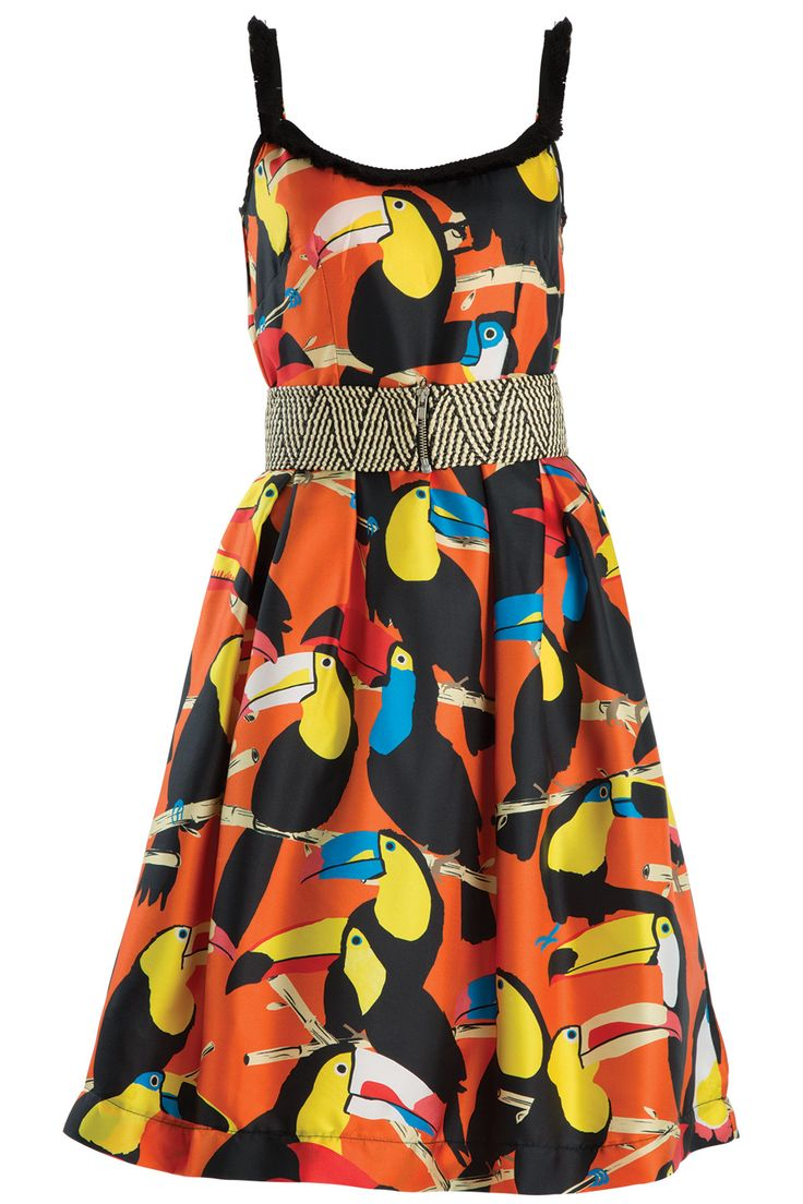 COOPER Summer 16 CO50147-29 Fabric Name & Composition Toucan Do It If You Try - 100%Silk