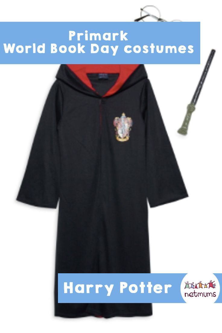 Primark World Book Day costumes - Harry Potter. With World Book Day just around the corner (1 March 2018), Primark has come to the rescue with a cheap range of great costumes.