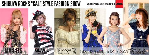 Anime Expo Announces Shibuya Rocks Fashion Show at Anime Expo 2013 - Anime News Network
