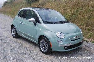 2012 Fiat 500 Lounge - my new baby